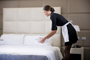 Limpieza para hoteles